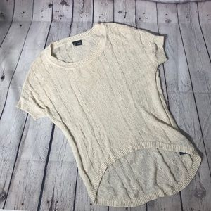 Sparkle and fade sweater shirt